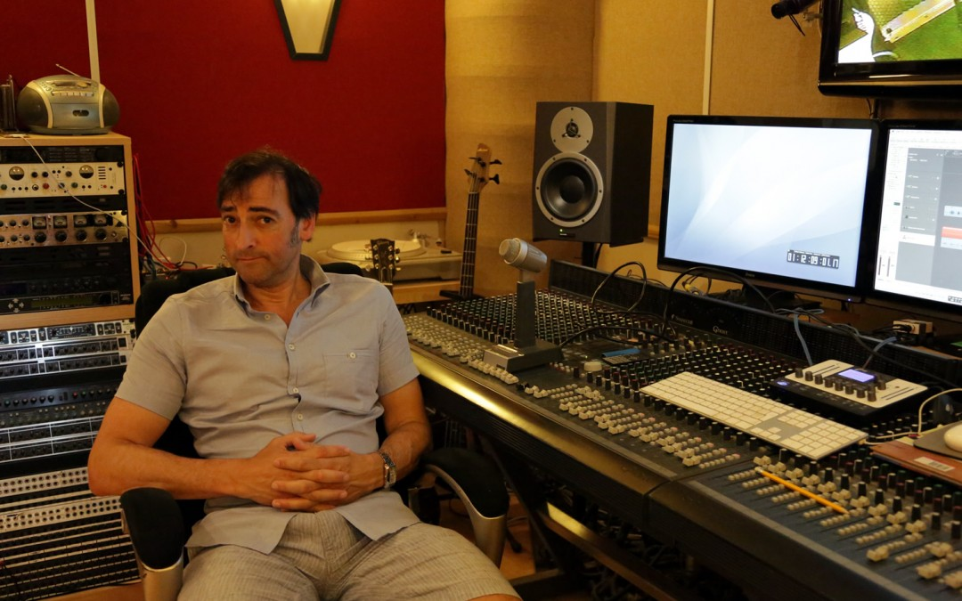 Alistair McGowan drops in (against all odds!)